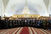 Патриарший экзарх все Беларуси возглавил торжества по случаю актового дня Минской духовной семинарии
