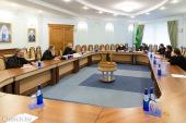 Патриарший экзарх всея Беларуси возглавил очередное заседание Епархиального совета Минской епархии