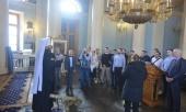Председатель ОВЦС встретился с молодежной группой РСЕХБ