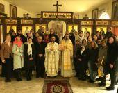 В праздник Сретения православные паломники из Ливана посетили Представительство Русской Православной Церкви в Дамаске