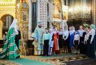 Слово Святейшего Патриарха Кирилла в Неделю о блудном сыне после Литургии в Храме Христа Спасителя