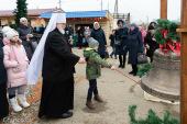 Патриарший экзарх всея Беларуси возглавил престольный праздник в минском храме в честь святителя Николая Японского