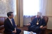 Председатель Отдела внешних церковных связей встретился с послом Японии