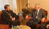 Председатель ОВЦС встретился с послом России в Сербии