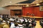 Митрополит Волоколамский Иларион выступил с лекцией в Белградском университете