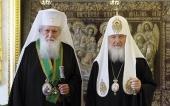 Поздравление Святейшего Патриарха Кирилла Предстоятелю Болгарской Православной Церкви с годовщиной интронизации
