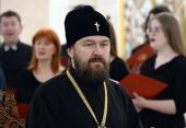 Митрополит Волоколамский Иларион: Создателем Церкви является Господь Иисус Христос, и никакой президент Церковь создать не сможет