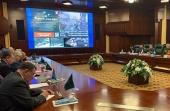 Епископ Клинский Стефан выступил на встрече с представителями ветеранских организаций в Международном военном центре в Москве