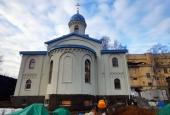 Завершается строительство храма в СИЗО № 1 «Матросская тишина»