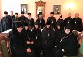 Представители Межведомственной комиссии по вопросам образования монашествующих посетили Александровскую епархию