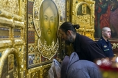 В Псковскую епархию принесена главная икона Вооруженных сил России
