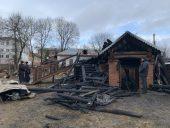 В Козельской епархии сгорел храм