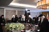 В Аммане проходит собрание Предстоятелей и делегаций Поместных Православных Церквей