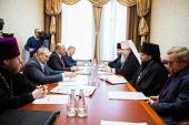 На встрече главы Архангельской митрополии с руководством региона обсуждалось строительство кафедрального собора в Архангельске