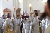 Патриарший наместник Московской епархии совершил Литургию в Тихвинском храме подмосковного Ногинска