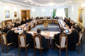 Патриарший экзарх всея Беларуси возглавил расширенное заседание Епархиального совета Минской епархии