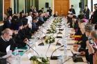 Святейший Патриарх Кирилл возглавил объединенное заседание Межрелигиозного совета России и Христианского межконфессионального консультативного комитета