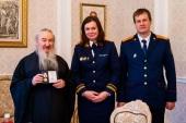 Митрополит Казанский Феофан награжден медалью Следственного комитета РФ «За содействие»