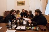 Председатель Финансово-хозяйственного управления провел рабочее совещание по вопросам возвращения церковного имущества