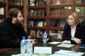 Председатель Финансово-хозяйственного управления встретился с министром культуры РФ