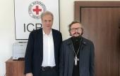 Представитель Патриарха Московского и всея Руси при Патриархе Антиохийском посетил представительство Международного комитета Красного Креста в Дамаске