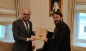 Председатель ОВЦС принял советника по религиозным делам Посольства Турции