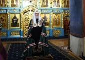 Слово Святейшего Патриарха Кирилла в канун субботы первой седмицы Великого поста после богослужения в Новоспасском ставропигиальном монастыре