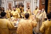 В Неделю Торжества Православия Святейший Патриарх Кирилл совершил Литургию в Храме Христа Спасителя