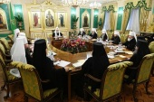 ЖУРНАЛЫ заседания Священного Синода от 11 марта 2020 года