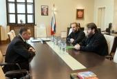 Председатель Финансово-хозяйственного управления встретился с первым заместителем министра строительства и ЖКХ России