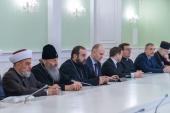 Блаженнейший митрополит Онуфрий принял участие во встрече мэра Киева с представителями религиозных организаций, посвященной угрозе распространения коронавирусной инфекции