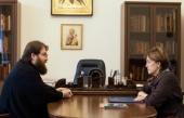 Председатель Финансово-хозяйственного управления Московского Патриархата встретился с сенатором от Вологодской области