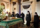 Митрополит Воскресенский Дионисий возглавил в Даниловом ставропигиальном монастыре торжества по случаю дня памяти основателя обители