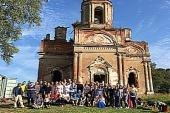 В Тихвинской епархии состоялась презентация проекта «Колчановская святыня. Спасаем храм от разрушения»