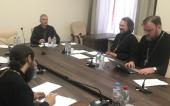 В Учебном комитете прошло совещание проректоров по научной работе духовных учебных заведений Московского региона