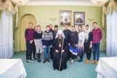 Паломническая делегация Синодального отдела по делам молодежи посетила Тамбовскую епархию