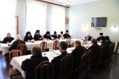 Состоялось заседание комиссии Межсоборного присутствия по церковному управлению, пастырству и организации церковной жизни