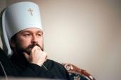 Митрополит Волоколамский Иларион: Русская Церковь не рассматривает возможность отмены богослужений из-за эпидемии