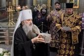 Завершилось пребывание в Санкт-Петербурге частицы мощей Предтечи и Крестителя Господня Иоанна