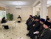 В Махачкалинской епархии обсудили планы по строительству новых храмов