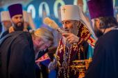 Предстоятель Украинской Православной Церкви возглавил чин наречения во епископов архимандритов Кирилла (Билана), Лавра (Березовского), Марка (Андрюка) и Афанасия (Германа)