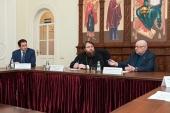 В Финансово-хозяйственном управлении состоялось совещание по строительству храма благоверного князя Димитрия Донского в Северном Бутове г. Москвы