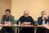 Представитель Санкт-Петербургской епархии принял участие в дискуссии о цифровизации общества