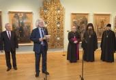 В Национальном художественном музее Республики Беларусь открылась выставка иконописи, приуроченная к 85-летию со дня рождения митрополита Филарета (Вахромеева)