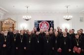 В Москве прошел семинар для руководителей и сотрудников епархиальных отделов по взаимодействию с Вооруженными силами