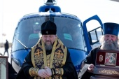 По границам Белгородской митрополии совершен воздушный крестный ход