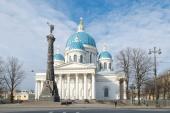 Главная икона Вооруженных сил РФ принесена в Троице-Измайловский собор Санкт-Петербурга