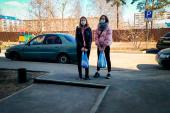 Волонтеры Казанской епархии оказывают в период карантина помощь пожилым татарстанцам
