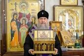 Митрополит Астанайский Александр совершил молебен об избавлении Казахстана от распространения губительной инфекции