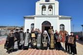 Митрополит Феодосийский Платон совершил объезд со святынями вокруг Керчи
